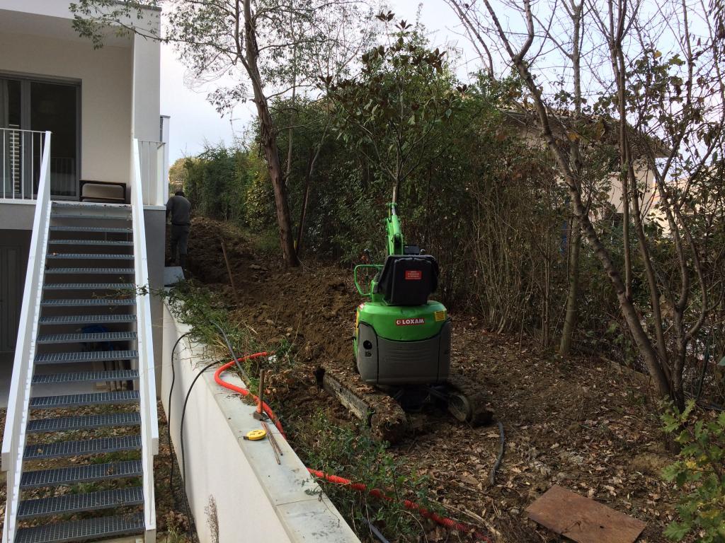 R alisation jardin toulouse terrassement arrosage - Gazon en plaque toulouse ...